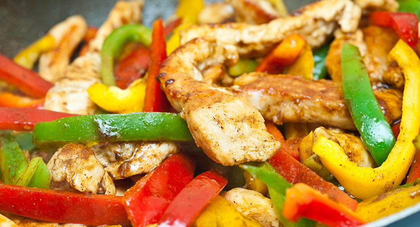 Kelly's Baked Chicken with Peppers